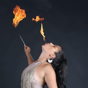 Just B Entertainment - Fire Eater in Denver, Colorado