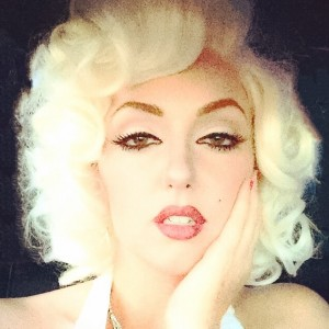 Grace as Marilyn