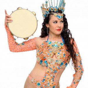 Marisa Sambista - Samba Dancer / Drum / Percussion Show in San Diego, California