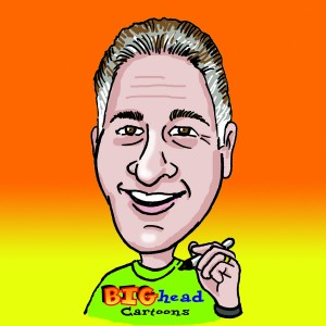 Mark Mandel - BIGhead Cartoons - Caricaturist / Family Entertainment in Atlanta, Georgia