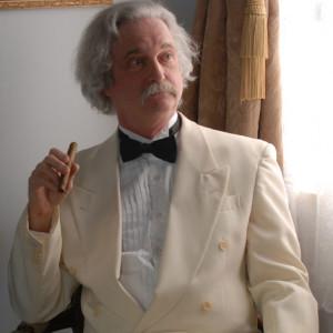 Mark Twain Reflects - Historical Character in Schnecksville, Pennsylvania