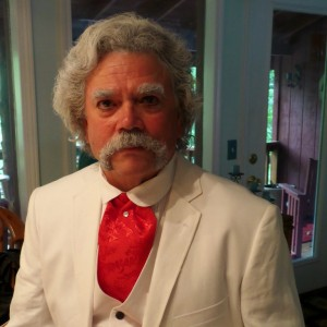 Mark Twain - Impressionist / Historical Character in Shell Knob, Missouri