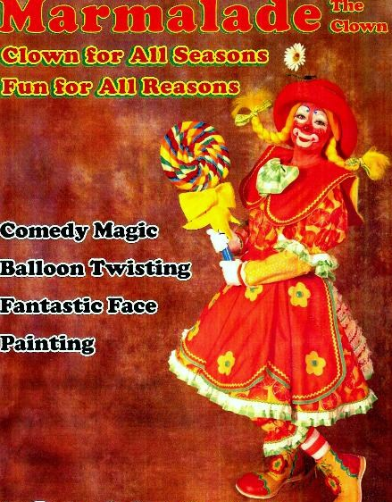 Hire Marmalade The Clown Clown In Nashville Tennessee
