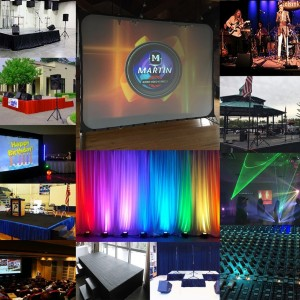 Martin Audio Video Services - Lighting Company / Backdrops & Drapery in Hudson, New York