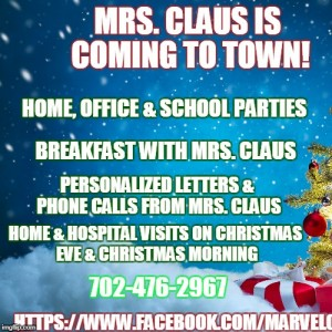 Marvelous, Magical Mrs. Claus