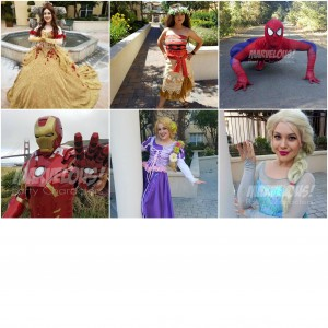 Marvelous Party Characters - Children's Party Entertainment / Face Painter in San Jose, California