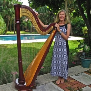 Mary Keller - Harpist in Nantucket, Massachusetts
