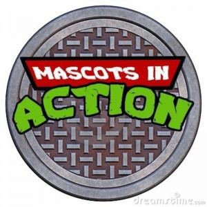 Mascots In Action - Cartoon Characters in Modesto, California