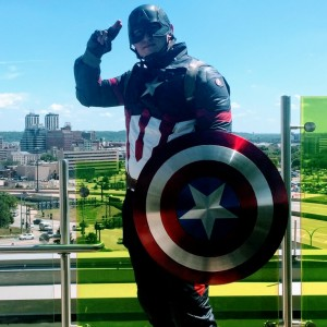 "Matt ""Cap"" America - Costumed Character in Bloomington, Illinois"