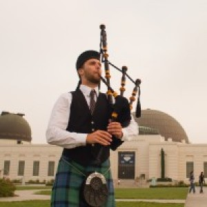 Max Gillespie - Bagpiper / Celtic Music in Venice, California