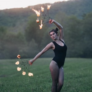 Maya Tihtiyas - Fire Performer in Portland, Maine