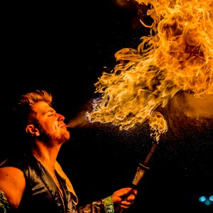 Mean Mike - Fire Performer in Miami, Florida