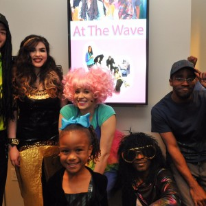 Meet me at the wave  children's musical