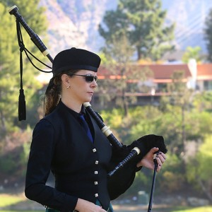Megan Kenney - Bagpiper in Los Angeles, California