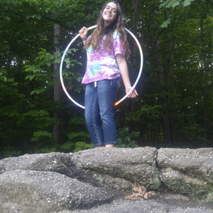 Megan Rose - Hoop Dancer in Youngstown, Ohio