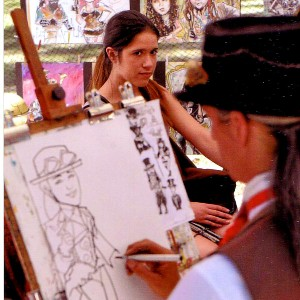 MejiaArts - Caricaturist / College Entertainment in San Jose, California