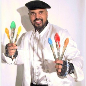D. Westry - Master Speed Painter Extraordinaire - Interactive Performer / Variety Entertainer in Atlanta, Georgia