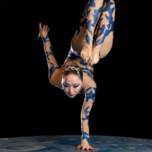 Melody contortion-hand balancer