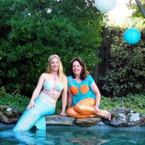 Mermaid and Mom - Mermaid Entertainment / Pirate Entertainment in Walnut Creek, California