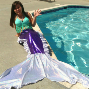 Mermaid Sandie - Princess Party in Los Altos, California