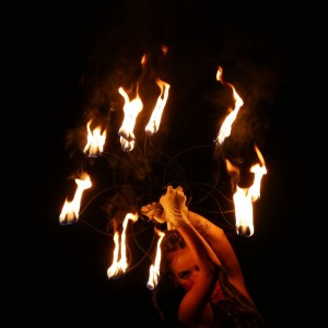 Metaphysique - Fire Dancer in Chino, California