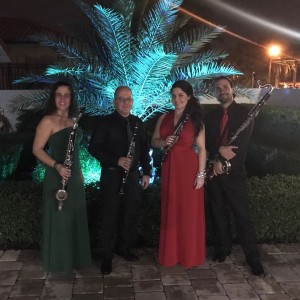 """Miami 4 Winds"" (clarinet Quartet) - Woodwind Musician / Bolero Band in Miami, Florida"
