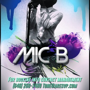 Mic B - R&B Vocalist in New York City, New York