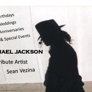 Sean Vezina as Michael Jackson - Michael Jackson Impersonator / Impersonator in Goshen, Indiana