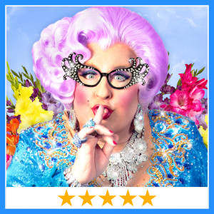 Michael L. Walters as Dame Edna!