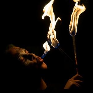Michiko Kasai - Fire Eater in Atlanta, Georgia