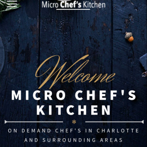 Micro Chef's Kitchen - Personal Chef in Charlotte, North Carolina