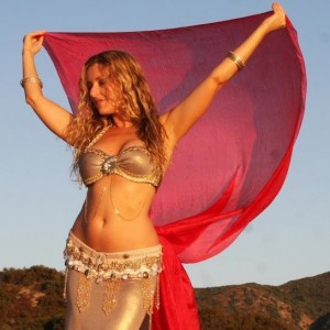 Middle Eastern Dance Artist Jacqui Lalita - Belly Dancer in Venice, California