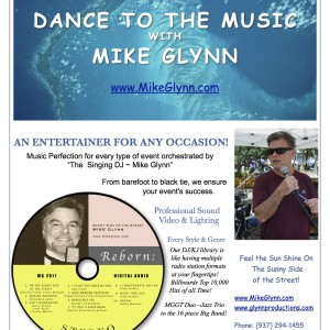 Mike Glynn - Crooner / Wedding DJ in Dayton, Ohio