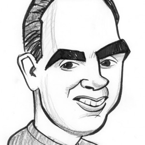 Mike Tofanelli Caricature