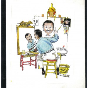 Mike Valentine Caricature Artist - Caricaturist / Family Entertainment in Orlando, Florida