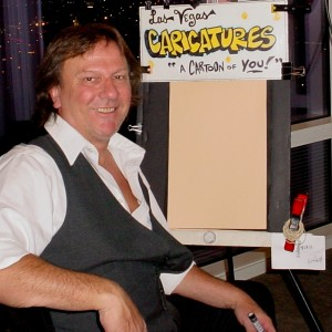 Mike Warden's Caricatures CartOOn of YOU - Caricaturist in Las Vegas, Nevada