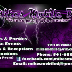 Mikes Mobile DJ - DJ / College Entertainment in Roseburg, Oregon