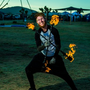 Mikey Adamski - Fire Performer in Los Angeles, California
