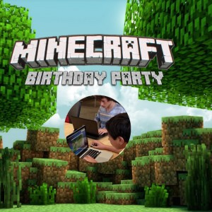 Minecraft Parties by Enrichford - Mobile Game Activities in Short Hills, New Jersey