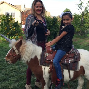 Mini Horse Parties & Unicorn Parties - Pony Party / Princess Party in Sanger, California
