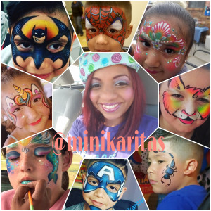 Minikaritas Face Art - Face Painter in Grand Prairie, Texas