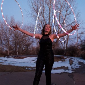 Miss Mad About Hoops - Circus Entertainment / Mardi Gras Entertainment in Westminster, Colorado