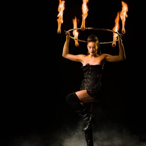 Miss MichelleBell - Fire Performer / Hawaiian Entertainment in Las Vegas, Nevada