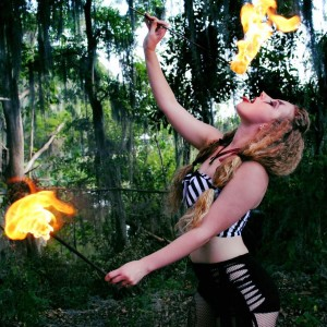 Miss Tay - Fire Performer in Palm Beach Gardens, Florida