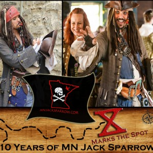 MN Jack Sparrow - Pirate Entertainment / Costumed Character in Northfield, Minnesota