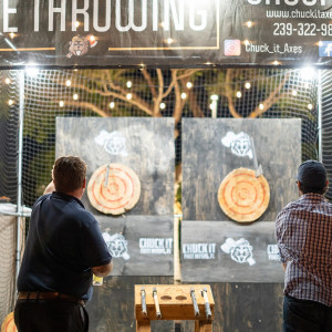 Mobile Axe Throwing - Mobile Game Activities / Family Entertainment in Fort Myers Beach, Florida