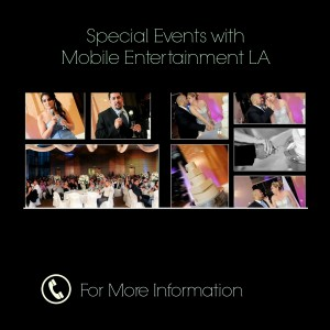 Mobile Entertainment LA - Wedding DJ / Wedding Entertainment in South El Monte, California