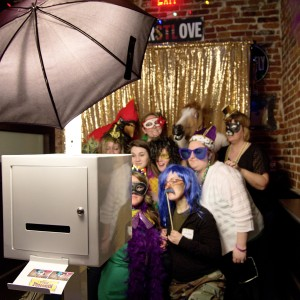 Modern Open Air Photo Booth: Everyday Elegance - Photo Booths / Wedding Services in St Louis, Missouri
