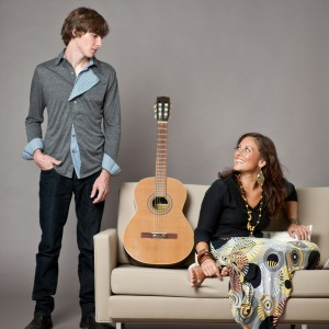 Monica da Silva & Chad Alger - Bossa Nova Band in South Pasadena, California