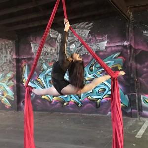 Monica Padilla - Aerialist in Sacramento, California